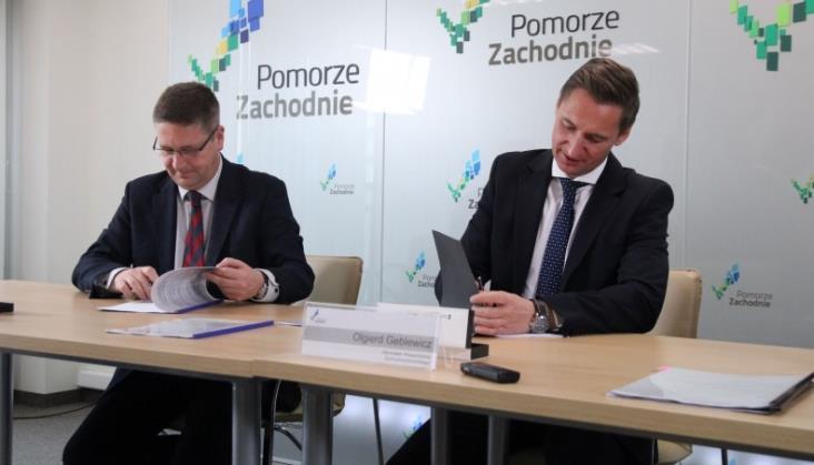 Zachodniopomorskie podpisało umowę zPrzewozami Regionalnymi