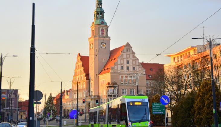 Pierwsza awaria wolsztyńskich tramwajach