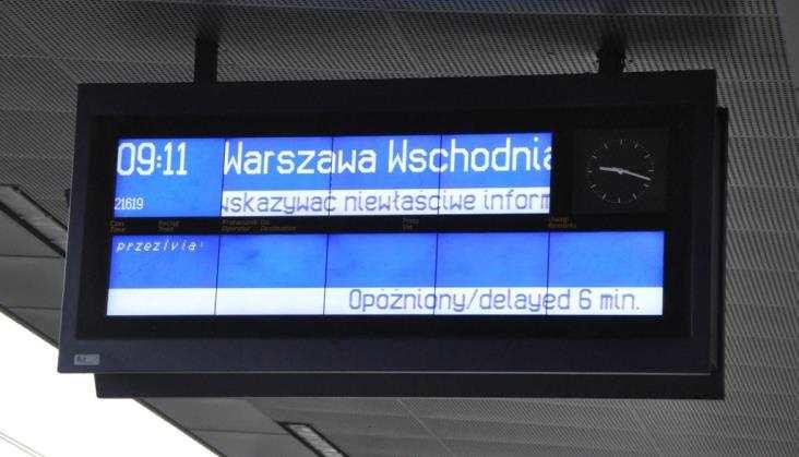 Warszawa Stadion: Pasażerowie sami mają sobie weryfikować informacje