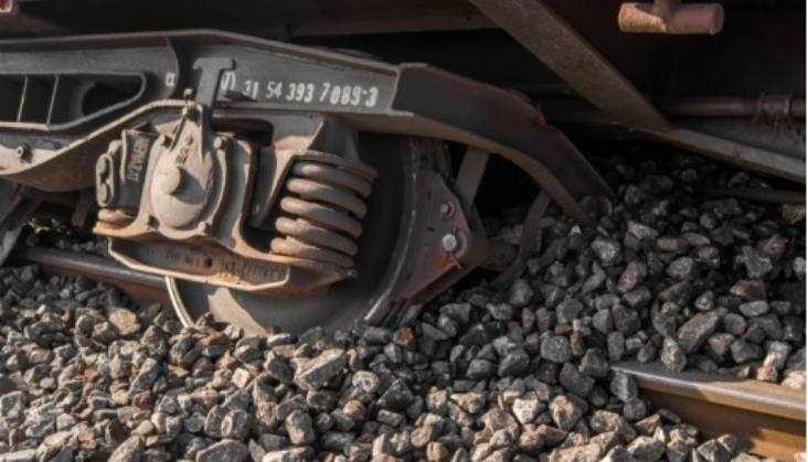 Pociąg towarowy wykoleił się wOtłoczynie