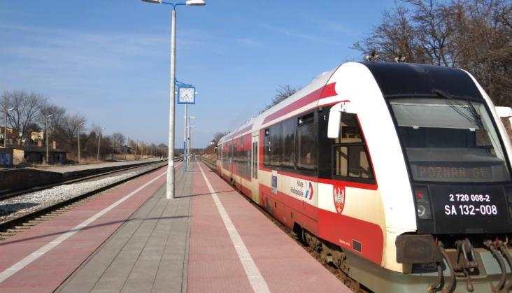 Grąblewo - Nowy przystanek Kolei Wielkopolskich