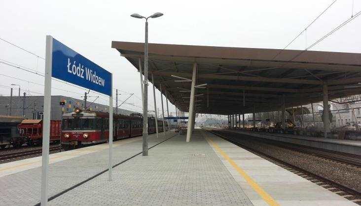 Dwa nowe perony na stacji Łódź Widzew gotowe