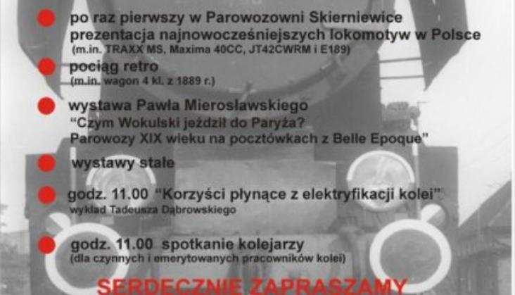 Święto Kolejarza w Parowozowni Skierniewice