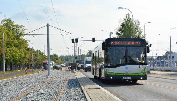 Olsztyn: Skanska zeszła, rozpoczynają się odbiory tramwaju