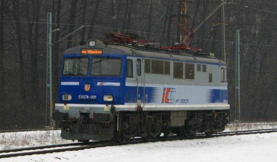 Kolejne EU07A zachwilę wPKP Intercity