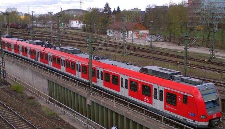 Tygodniowy strajk niemieckich kolejarzy