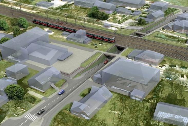 Rusza budowa tunelu podliniąRail Baltica wZielonce