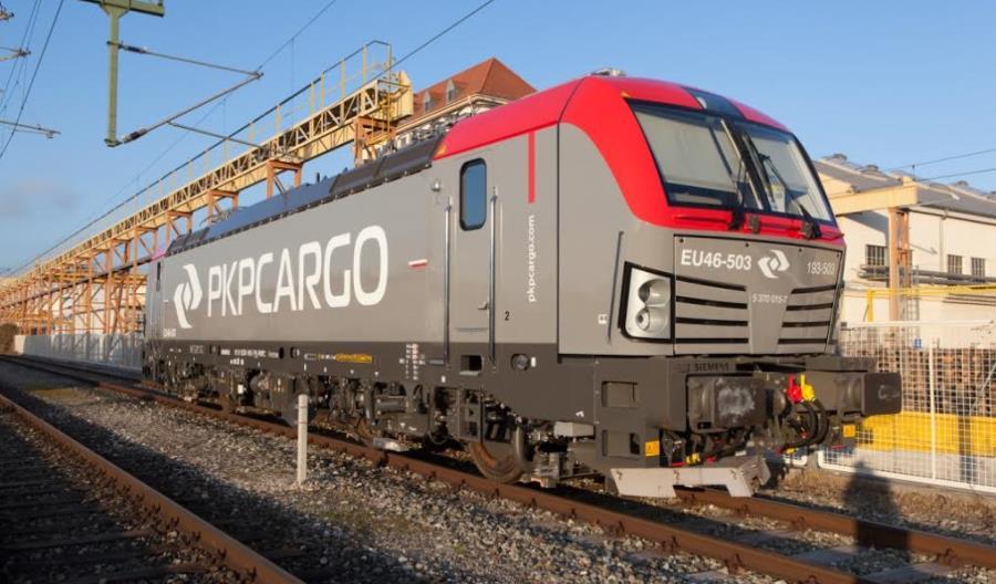 Pierwsze Vectrony dla PKP Cargo już po testach fabrycznych