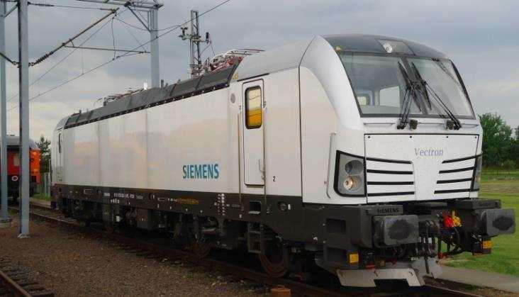 Vectron Siemensa na testach w CTL
