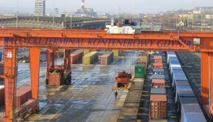 Port Gdynia przebuduje intermodalny terminal kolejowy