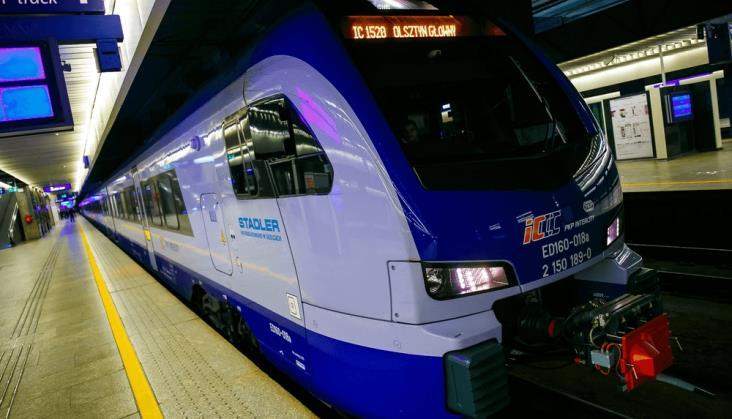 Flirty wPKP Intercity: Prawie ćwierć miliona pasażerów wmiesiąc