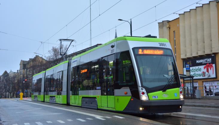 Ruszyła druga linia olsztyńskiego tramwaju