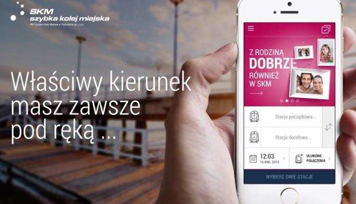 SKM Trójmiasto znową aplikacją nasmartfony