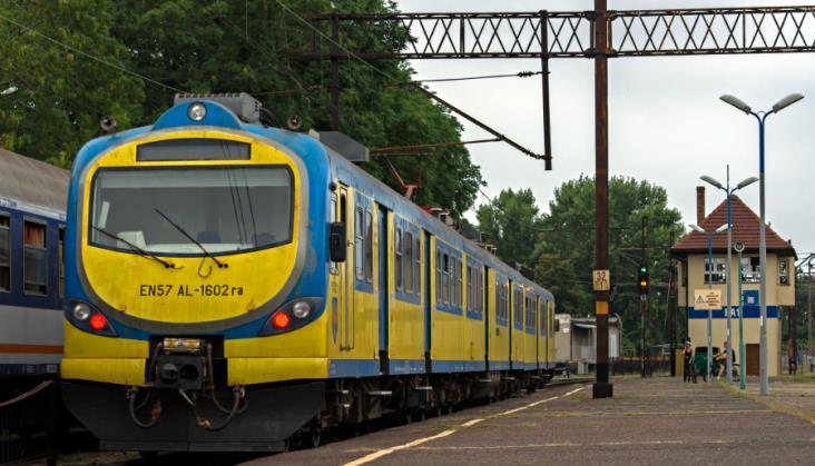 39 stopni wpociągu Regio