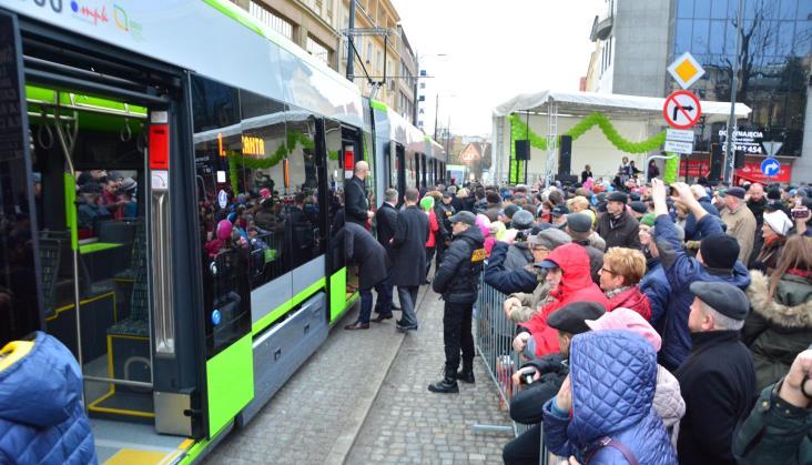 Olsztyn: Piętnasta sieć tramwajowa w Polsce ruszyła