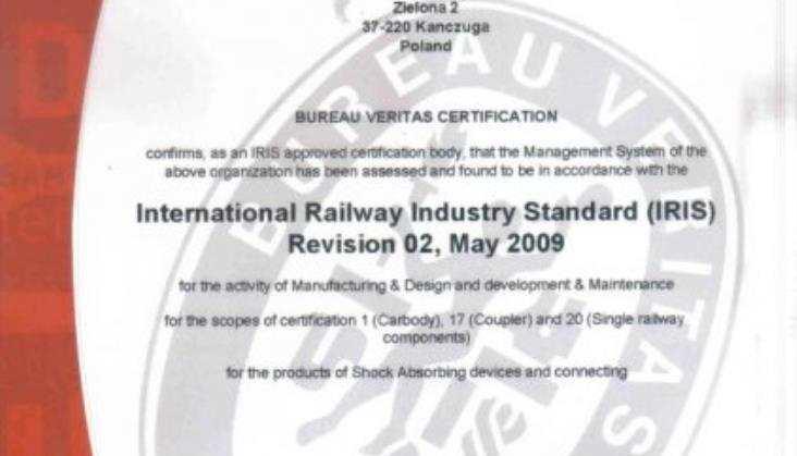 Axtone - spółka zarządzana zgodnie ze standardem IRIS