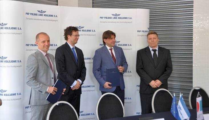 Jest umowa naodcinek Warszawa - Czachówek