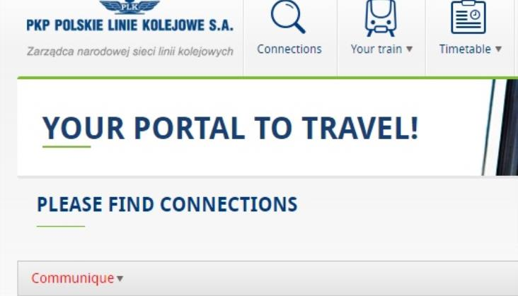 Ruszył Portal Pasażera PLK w angielskiej wersji językowej