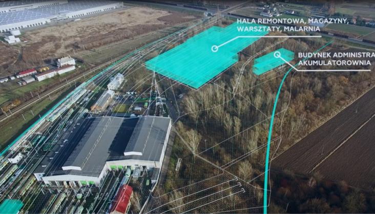 KM będą mieć nową bazę utrzymaniową w Sochaczewie