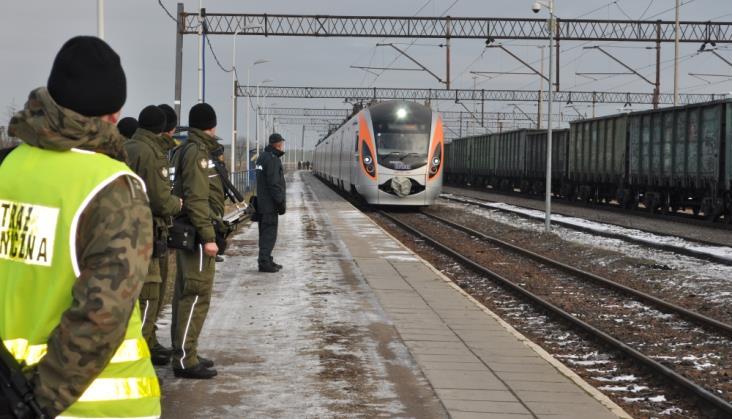 Pogranicznicy zostają w pociągach Przemyśl – Lwów – Kijów