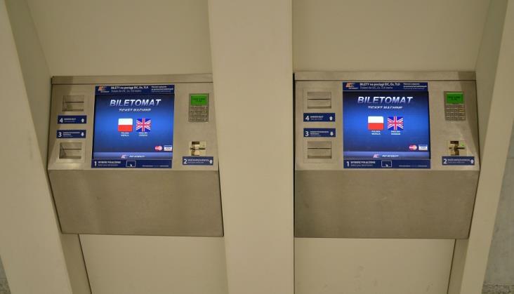 PKP IC: Zmienimy oprogramowanie biletomatów