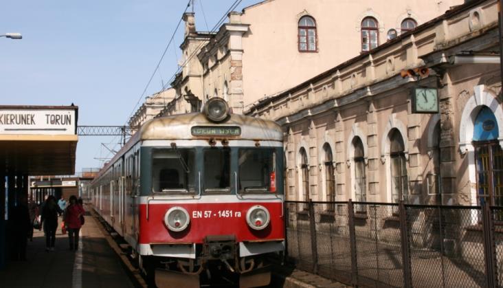 Czy pociągów Łódź – Toruń jest zbyt mało?
