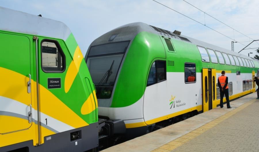 Pierwszy pociąg specjalny KM odjechał do Krakowa