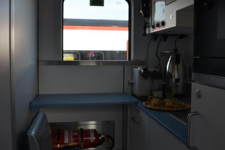 Z Baku do Stambułu w komfortowym wagonie sypialnym