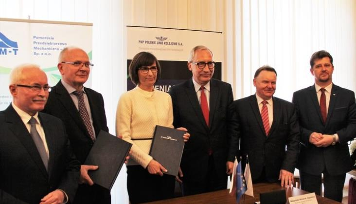 Umowa na rewitalizację linii Malbork – Grudziądz podpisana