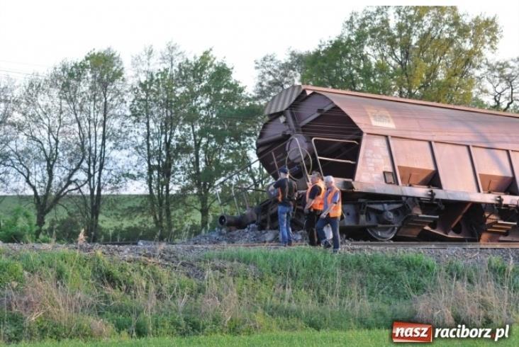 Wykolejenie pociągu towarowego pod Raciborzem