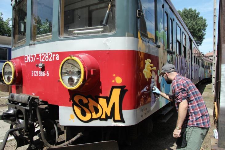 Ruchome Graffiti – specjalnie na Światowe Dni Młodzieży