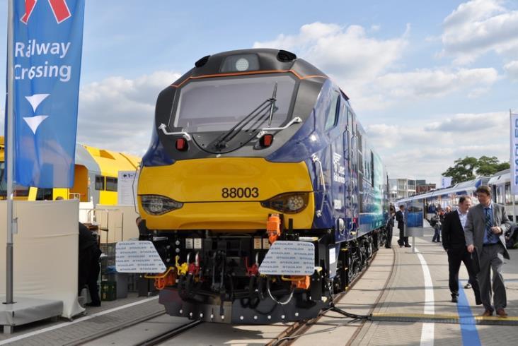 Stadler prezentuje nową elektryczno-spalinową lokomotywę Class 88 (zdjęcia)