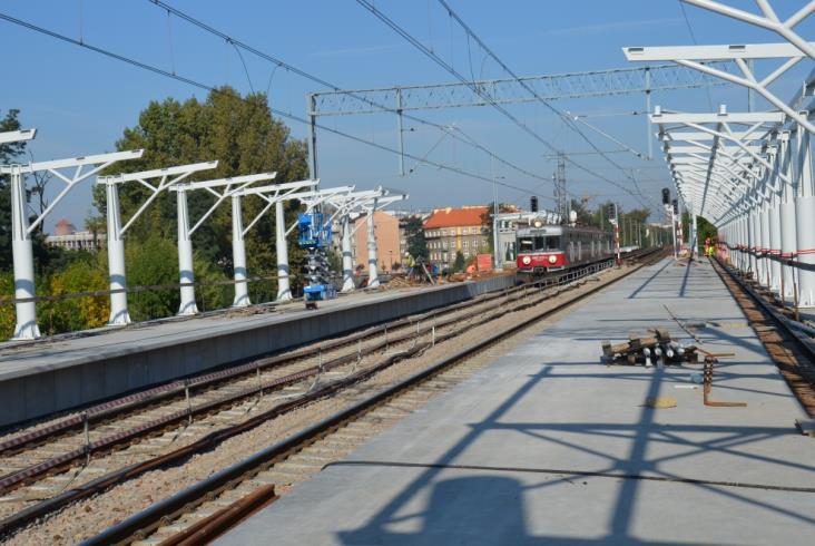 Krakowska łącznica kolejowa Zabłocie – Krzemionki na półmetku