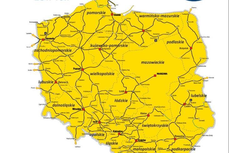 Nowy rozkład jazdy Przewozów Regionalnych. 70 nowych połączeń