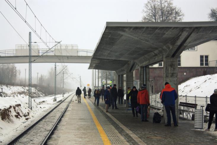 Zaawansowane prace na linii radomskiej
