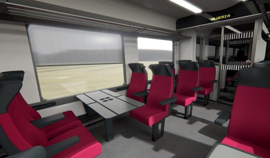 Algieria: Alstom zaprezentował projekt nowych pociągów intercity