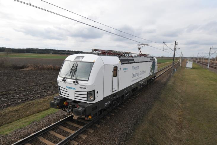 Siemens prezentuje Vectrona na torze w Żmigrodzie [zdjęcia, wideo]