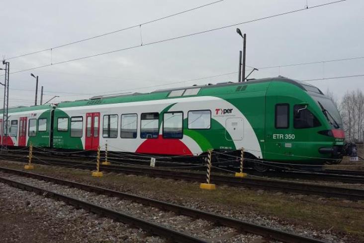Stadler Polska kończy dostawy Flirtów dla włoskiego TPER