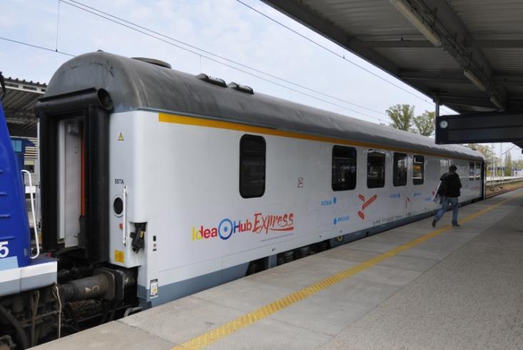 Wagon konferencyjny PKP Intercity w nowej roli. Idea Hub Express [zdjęcia]