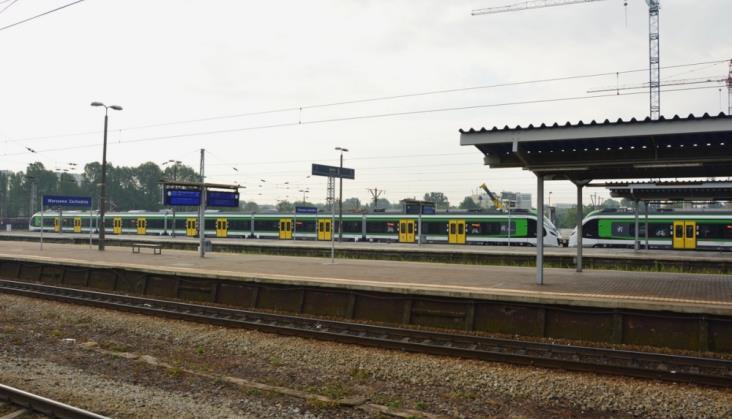 Stacja Warszawa Zachodnia wygodnym węzłem przesiadkowym