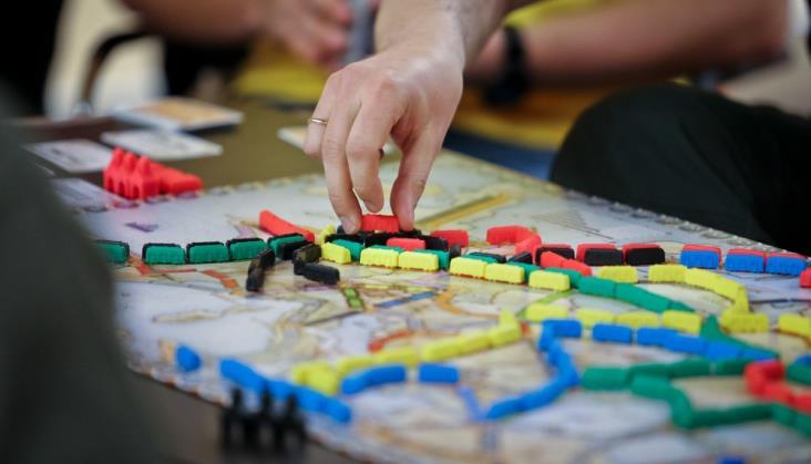 Planszówki w pociągach PKP Intercity